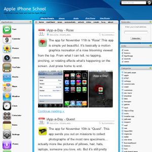 Subscribe to Apple iPhone School Demo Videos via iTunes