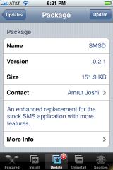 SMSD Update 0.2.1